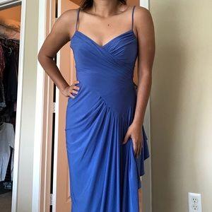 Periwinkle Blue BCBG formal long dress